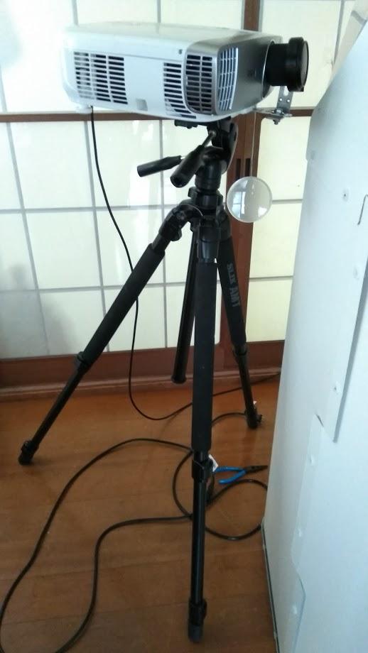 プロジェクター用のドーム内全周投影用レンズアダプターを作ってみた!